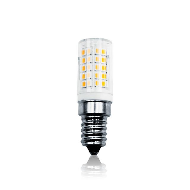 6 W LED 콘 조명 700 lm E14 T 64 LED 비즈 SMD 2835 밝기조절가능 따뜻한 화이트 화이트 110-130 V 200-240 V