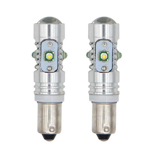 2 개 / 몫 ba9s h6w bax9s bay9s 25w h21w led 칩 자동차 신호 조명 폭 램프 웨지 전구 무료 배송