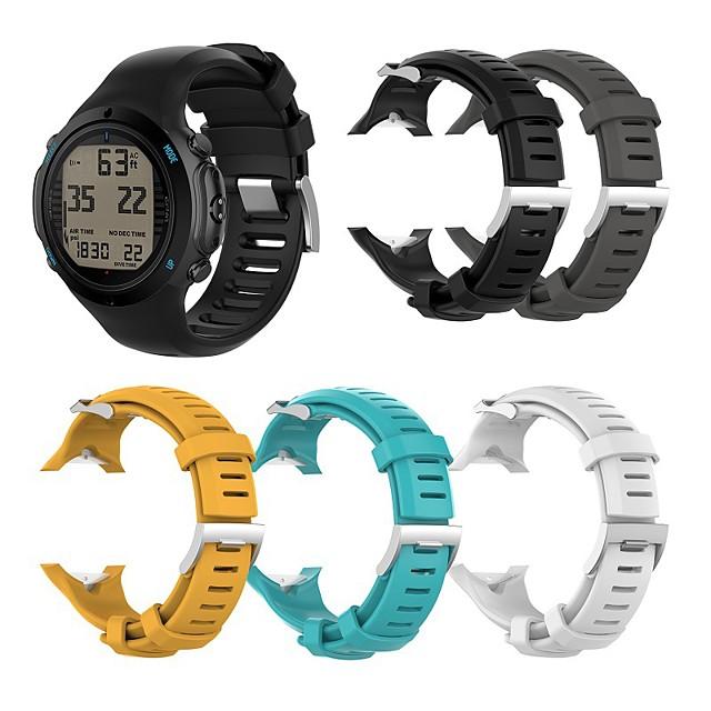 ремешок для часов suunto d6i novo спортивный ремешок suunto, силиконовый ремешок на запястье