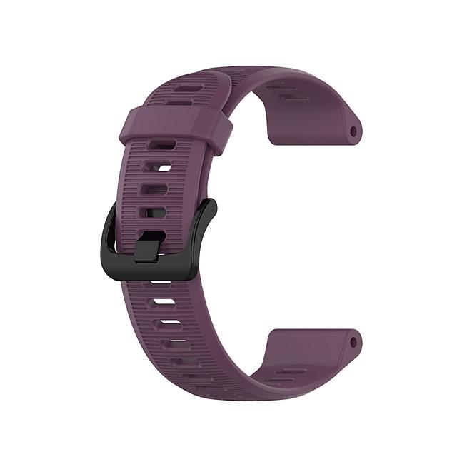 스마트 시계 밴드 용 Garmin 1 pcs 스포츠 밴드 실리콘 바꿔 놓음 손목 스트랩 용 선두 주자 945 선구자 935