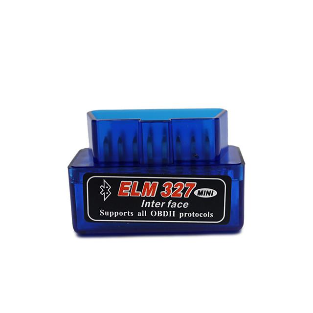 mini elm327 bluetooth obd2 v2.1 obd 2 scanner d'outil de diagnostic de voiture elm327 obdii adaptateur outil de diagnostic automatique lecteur de code de voiture