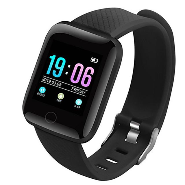 Смарт Часы Цифровой Современный Спортивные силиконовый 30 m Защита от влаги Пульсомер Bluetooth Цифровой На каждый день На открытом воздухе - Черный Зеленый Лиловый