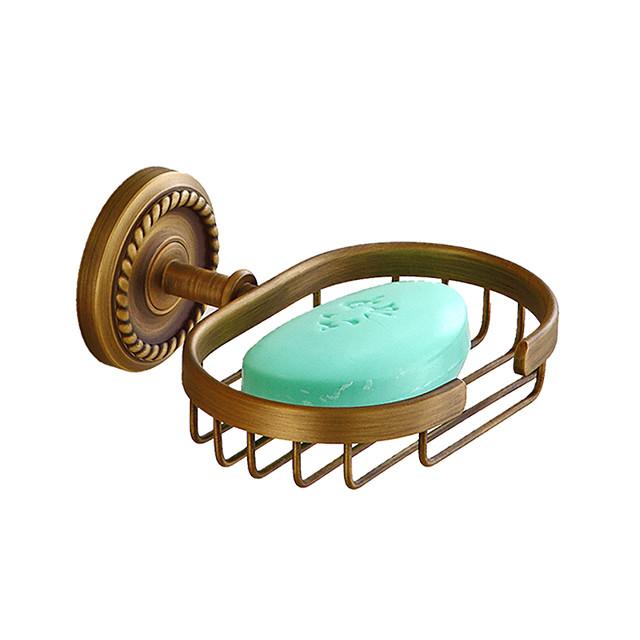 Vesela și săpun Titularii Creative Antichizat / Tradițional Alamă / Oțel inoxidabil / Fier Baie / Hotel baie Montaj Perete