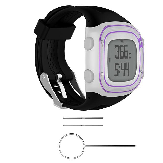 1 pc Bracelet de Montre  pour Garmin Bande de sport Silikon Remplacement Sangle de Poignet pour Précurseur 15 Précurseur 10