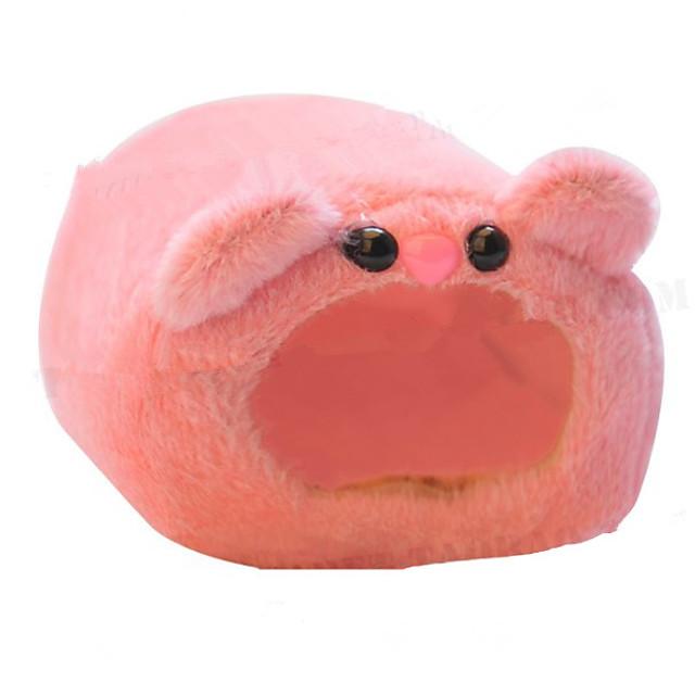 Mus Hamster Senger / Bomull / Polyesterblanding Blå Rosa