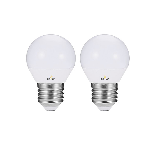 2pcs 4 W Ampoules Globe LED Ampoules Bougies LED Ampoules à Filament LED 360 lm E14 E26 / E27 P45 10 Perles LED SMD 2835 Mignon Soirée Décorative Blanc Chaud Blanc Froid 220-240 V 110-120 V / RoHs