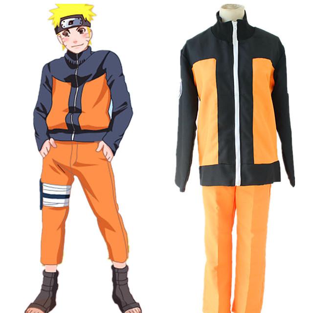 Εμπνευσμένη από Naruto Cookie Anime Anime Στολές Ηρώων Ιαπωνικά Κοστούμια Cosplay Κορυφή Παντελόνια Για Ανδρικά Γυναικεία