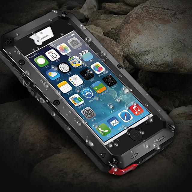 чехол для apple iphone x / iphone 8 plus / iphone 8 / 5s / 5c / 5 противоударный / пыленепроницаемый / водостойкий чехлы для всего тела броня металл