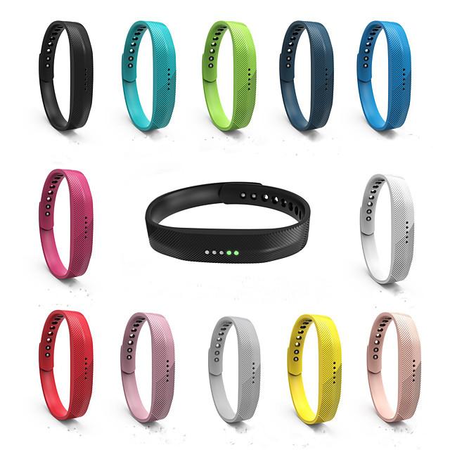 12 لون سيليكون استبدال سوار المعصم حزام ساعة لسوار fitbit فليكس 2 الذكية سوار watchband ل fitbit flex2