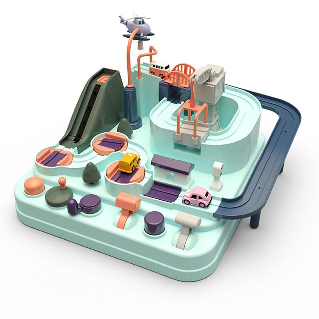 장난감 자동차 창의적 컴팩터 트랙 & 멀티 터레인 로더 특별한 디자인 부모 - 자녀 상호 작용 플라스틱 PP+ABS 당 호의 또는 아이 생일 선물을위한 소형 차 차량 장난감 1 pcs