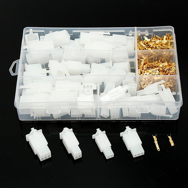 40 jeux auto moto voiture électrique 2,8 mm 2 3 4 6 broches fil connecteur terminal connecteurs-yx2-