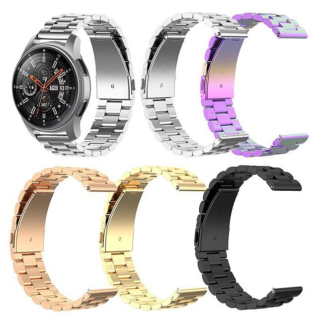 bandă smartwatch pentru garmin fenix 6x / 6x pro / fenix 5x / 5xplus / 3 / 3hr cataramă clasică high-end bandă din oțel inoxidabil curea de încheietura 26mm