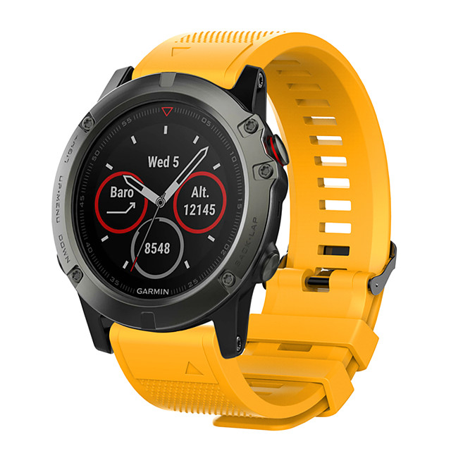 smartwatch band for garmin fenix 5x / fenix 3 / quatix 26mm garmin sport band سيليكون معصم حزام