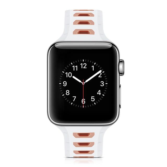 klockband för apple watch serie 5/4/3/2/1 apple sport band silikon armband