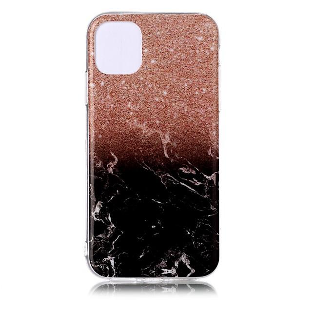غطاء من أجل Apple اي فون 11 / iPhone 11 Pro / iPhone 11 Pro Max نحيف جداً / نموذج غطاء خلفي حجر كريم TPU