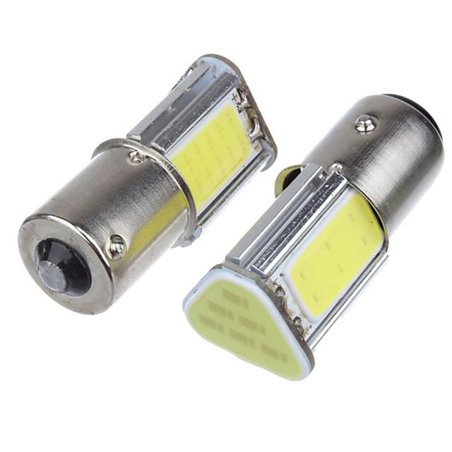 سيارة LED ضوء الضباب / ضوء إشارة اللف / أضواء الفرامل 1156 لمبات الضوء COB 5 W 4 من أجل عالمي كل السنوات 2pcs