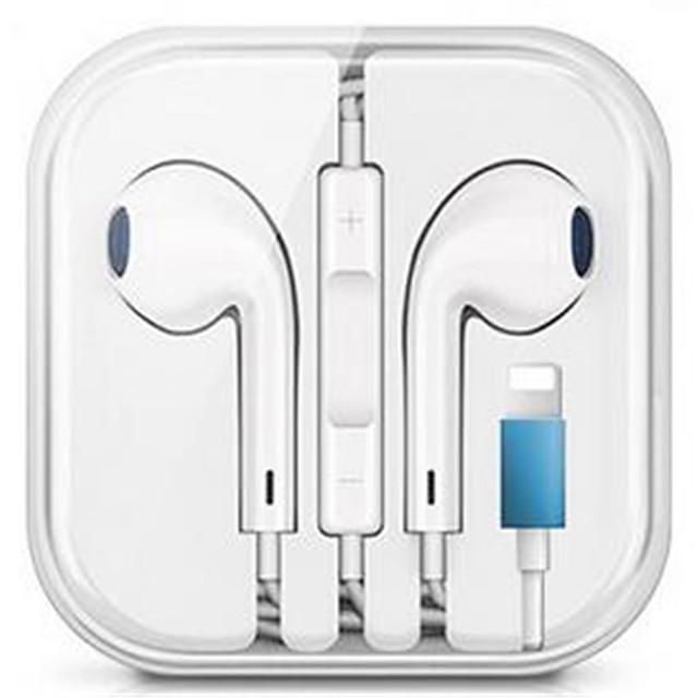 Căști cu fir cu fir cu căști stereo cu microfon pentru căști cu fir ipod pentru iPhone