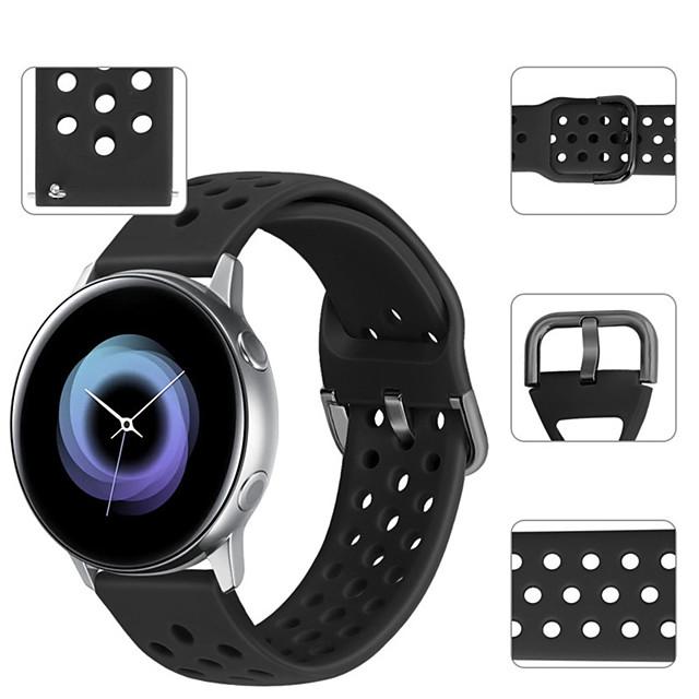 Спортивный силиконовый ремешок для часов ремешок на запястье для часов Huawei 2 / Ticwatch 2 / Ticwatch E браслет сменный браслет