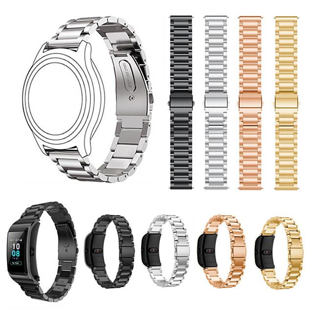 18 мм ремешок из нержавеющей стали для часов huawei watch1 / honor s1 / fit / b5