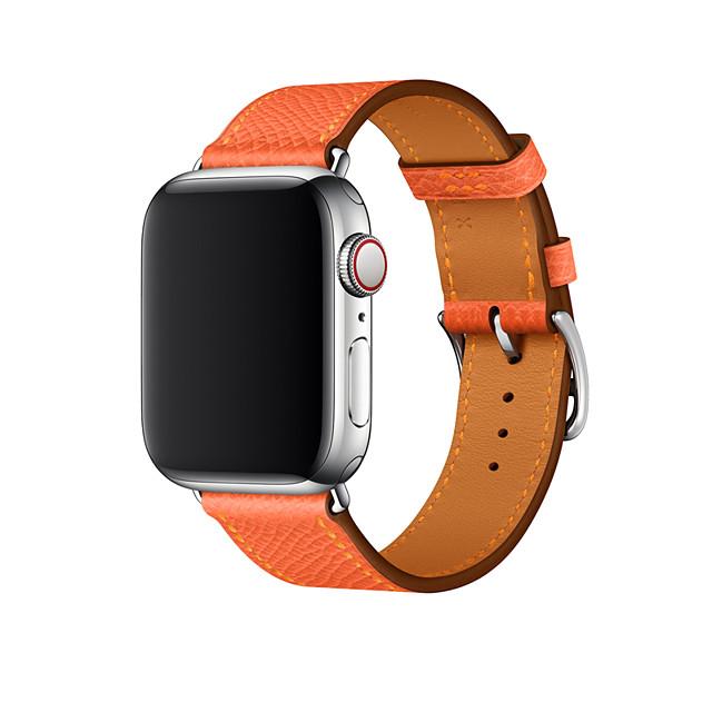 Ремешок для часов для Apple Watch Series 4/3/2/1 Apple Бизнес группа Натуральная кожа Повязка на запястье