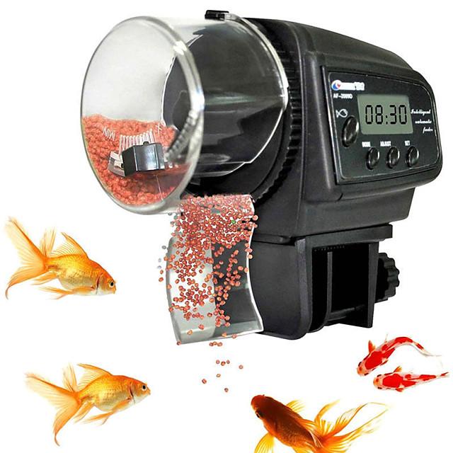 Acquari Mangiatoia per pesci Mangiatoie Elettronico / Elettrico Automatico regolabile flessibile Plastica 1 pezzo