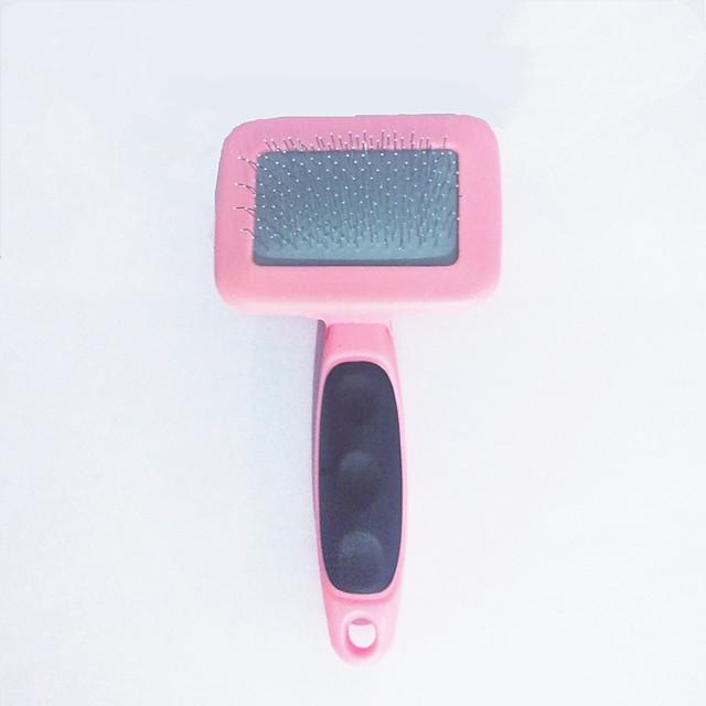 Pet Comb Stainless Steel comb Pet Clean Beauty Massage Comb Random Color Dog Comb