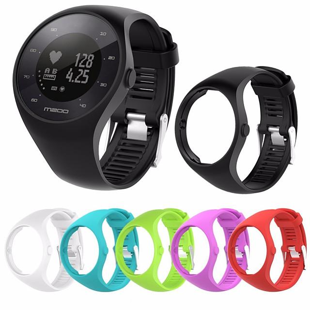 klokkebånd for polar m200 polar sportband silikon håndleddsstropp