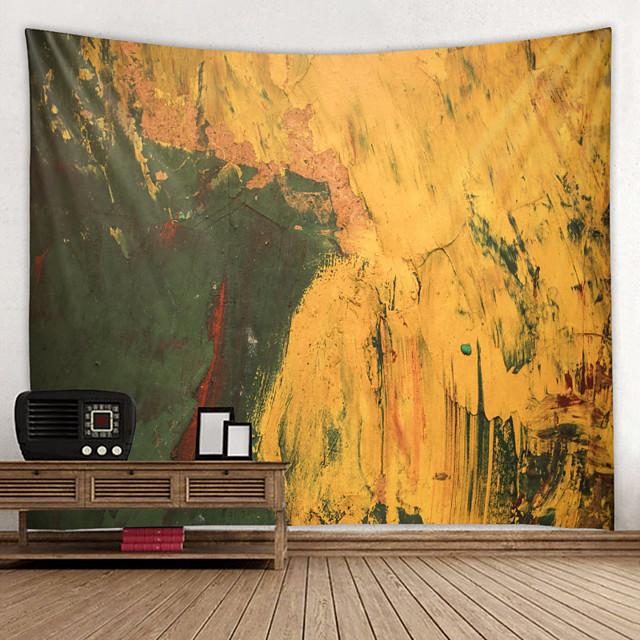 유화 스타일 벽 태피스트리 아트 장식 담요 커튼 매달려 홈 침실 거실 장식 추상 패턴