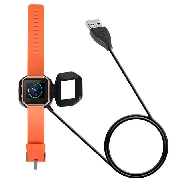 교체 USB 충전기 충전 독 케이블 충전기 코드 핏 비트 블레이즈 팔찌 팔찌 독 어댑터