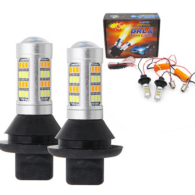 2pcs T20(7440.7443) Auto Žárovky SMD 2835 LED Denní svícení / Blinkry Pro Toyota / Nissan / Mitsubishi Všechny roky