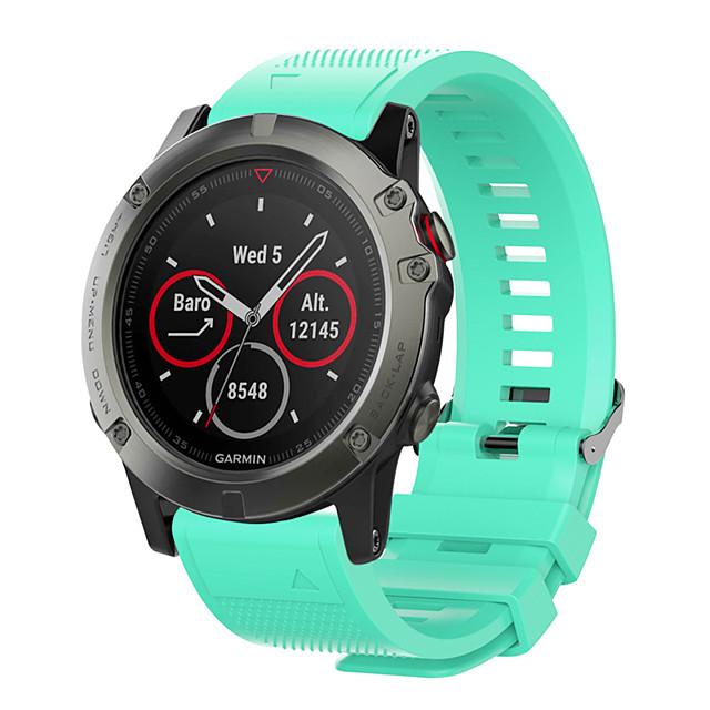Smartwatch Band for Garmin Approach S60 / Fenix 5 Plus Garmin Sport Band Silicone Wrist Strap