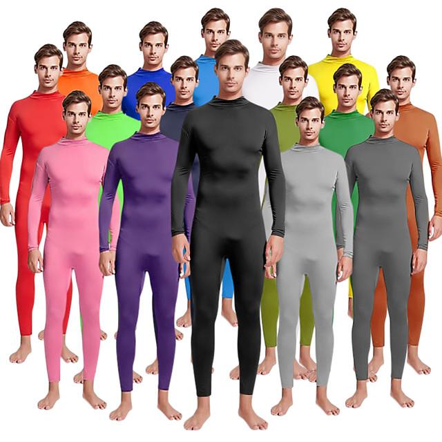 Zentai odijela Cosplay Nošnje Odijelo za kožu Odrasli Spandex Lycra Cosplay Nošnje Spol Muškarci Žene Jednobojni Božić Halloween Karneval / Visoka elastičnost