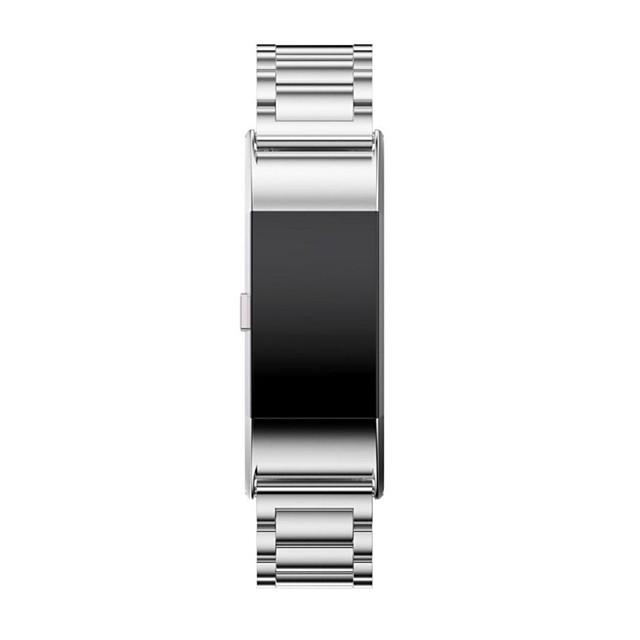 حزام إلى Fitbit Charge 2 فيتبيت بكلة كلاسيكية ستانلس ستيل شريط المعصم