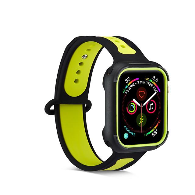 Kotelo Band Käyttötarkoitus Apple Watch Series 5 / Apple Watch Series 4 / Apple Watch Series 3 TPU yhteensopivuus Apple