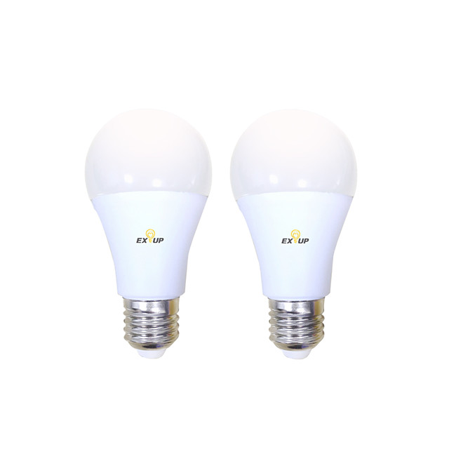EXUP® 2pcs 10 W Bulb LED Glob 1000 lm B22 E26 / E27 A60(A19) 14 LED-uri de margele SMD 2835 Decorativ Adorabil Cool Alb Cald Alb Rece 200-240 V