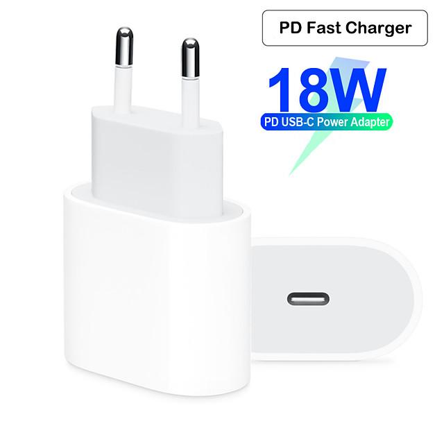 быстрое зарядное устройство / портативное зарядное устройство usb зарядное устройство ес штекер qc 2.0 / обычный 1 порт usb 2 100 ~ 240 В для apple