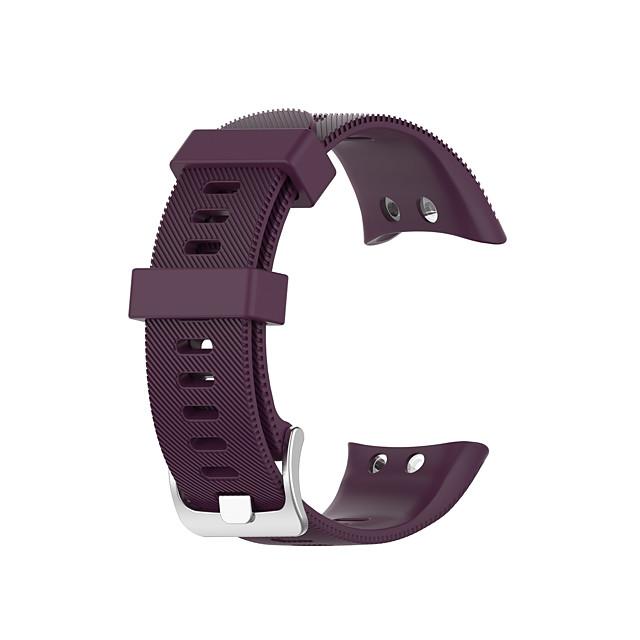 Klokkerem til Garmin forløper 45 / forløper 45S Garmin Klassisk spenne Silikon Håndleddsrem