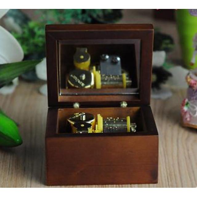 Music Box Music Jewelry box Unique Wooden Women's Girls ...