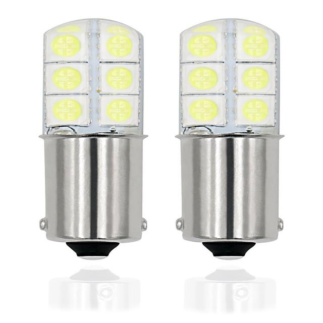 2pcs / lot 1156 p21w led ba15s led 5050 12smd auto becuri lampă pentru semnalizare de rotație lumină de frână nu există eroare 12v