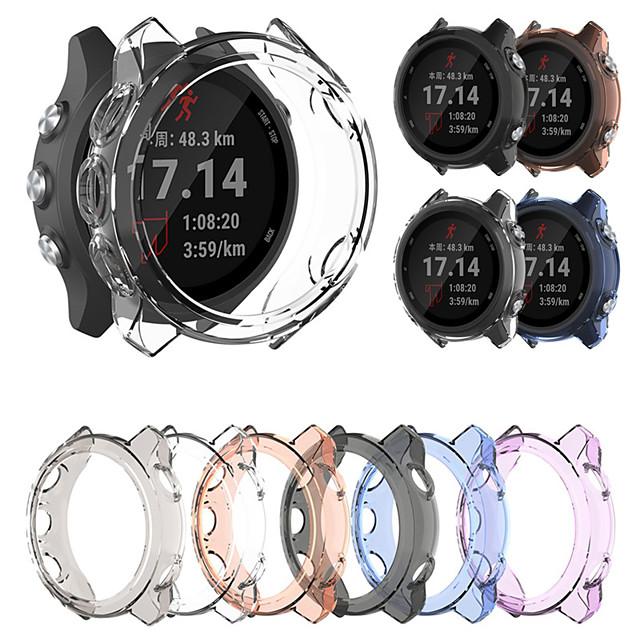 Мягкий ультра-тонкий кристально чистый ТПУ защитный чехол для Garmin предтечи 245/245 м умные часы защитные аксессуары