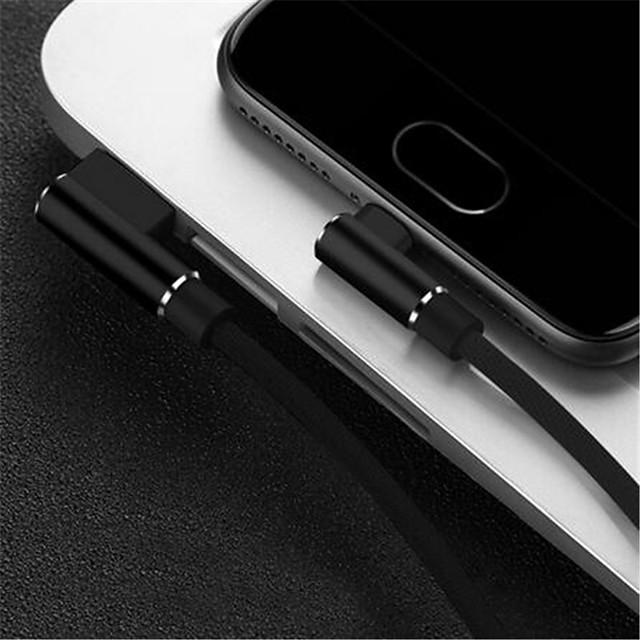 Cavo micro usb caricabatterie dati 2m android 90 gradi cavo per samsung s5 s6 s7 a3 a5 j5 j7 xiaomi redmi 4x note 4 carica lunga