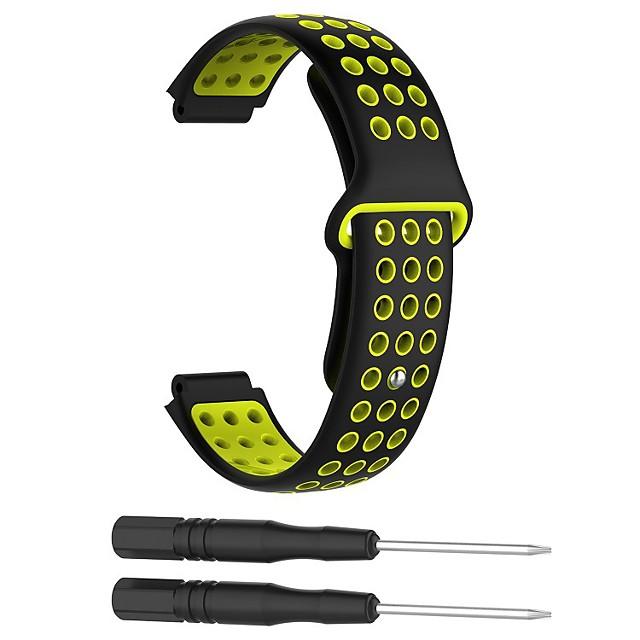 bracelet de montre pour approche s6 / approche s5 / approche s20 bracelet sport en silicone garmin sport band