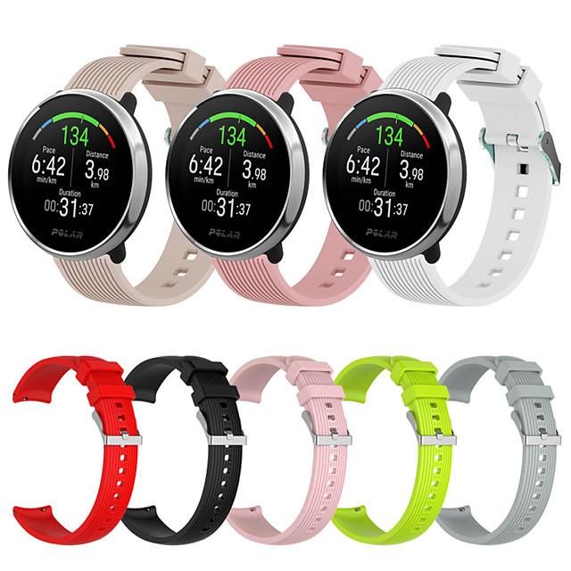 sport siliconen horlogeband voor polair ontsteken vervangbare armband polsband polsband