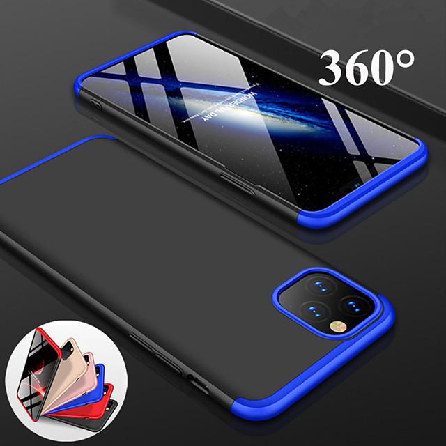 360 derece tam koruma mat sert pc telefon kılıfı için iphone 11 pro max xr xs max x 8 artı 7 artı 6 artı darbeye dayanıklı arka kapak