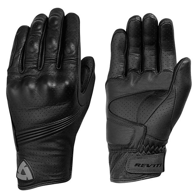 перчатки для мотоциклистов - перчатки с жесткой костяшкой и противоскользящим покрытием - мужские / женские кожаные перчатки для мотоциклистов, дышащая овчина