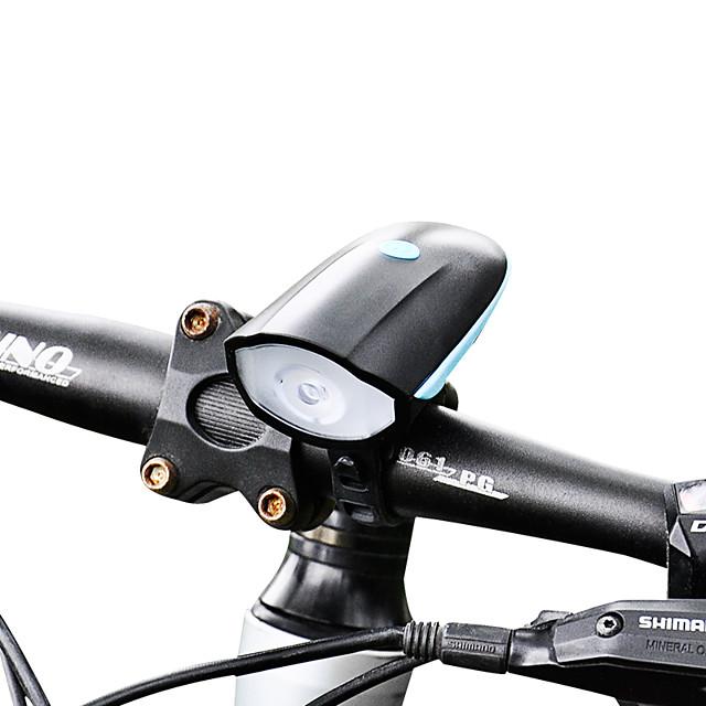 LED Luci bici Luce frontale per bici LED Bicicletta Ciclismo Impermeabile Professionale Facile da portare Litio-polimero 250 lm Batteria ricaricabile Bianco Ciclismo