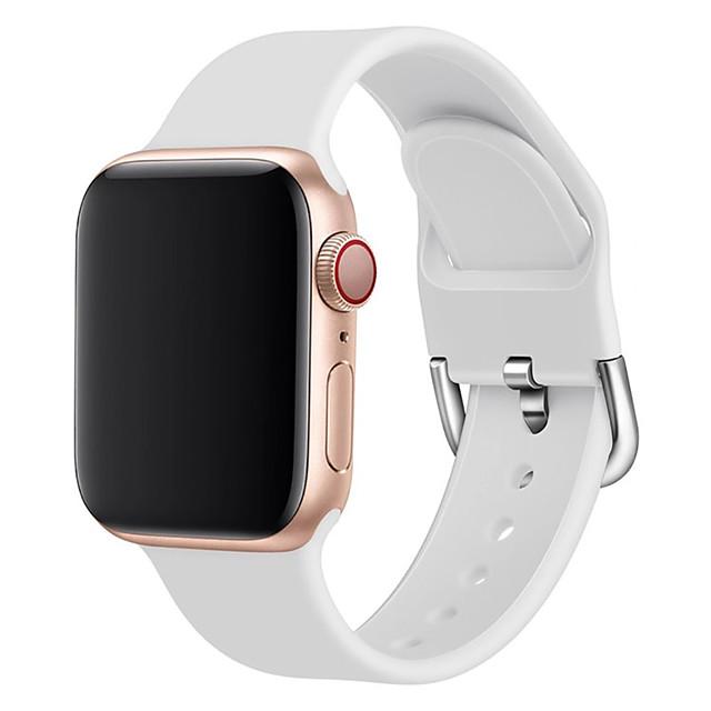 urbånd til æbleur serie 5/4/3/2/1 æble klassisk spænde silikone håndledsrem