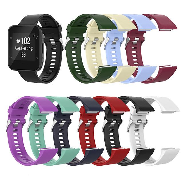 силиконовый ремешок для спортивных часов для Garmin Forerunner 35