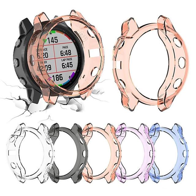 Husa de protectie din cristale moi tpu transparent pentru garmin Fenix 6s pro accesorii de protectie pentru ceas inteligent