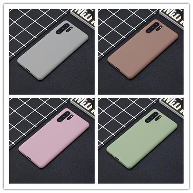 غطاء من أجل Samsung Galaxy S9 / S9 Plus / S8 Plus مثلج غطاء خلفي لون سادة TPU